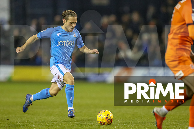 Jack Payne of Bradford City during the Sky Bet League 1 match between Luton Town and Bradford City at Kenilworth Road, Luton, England on 27 November 2018. Photo by Thomas Gadd.