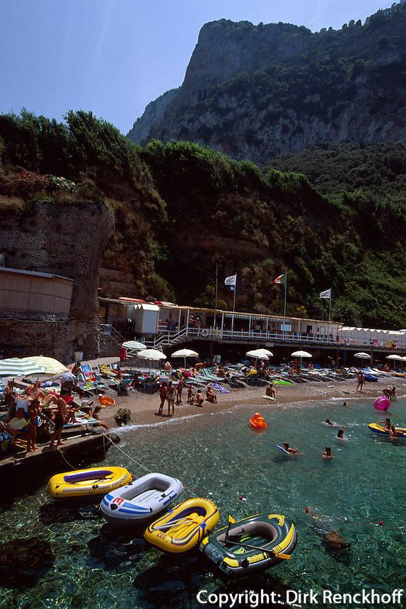 Italien, Capri, Tiberius-Bad bei Marina Grande