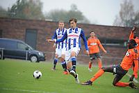 VOETBAL: HEERENVEEN: 09-11-2016, Sportpark Skoatterwâld, SC Heerenveen - FC Volendam, uitslag 2-1, ©foto Martin de Jong