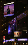 Theatre Marquee for the Broadway Opening Night Performance of 'Anastasia' at the Broadhurst Theatre on April 24, 2017 in New York City.