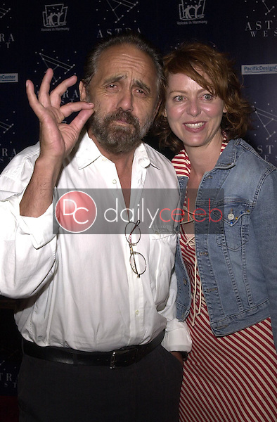Tommy Chong and his Daughter Prescious