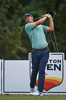 Seamus Power (IRL) watches his tee shot on 11 during round 4 of the 2019 Houston Open, Golf Club of Houston, Houston, Texas, USA. 10/13/2019.<br /> Picture Ken Murray / Golffile.ie<br /> <br /> All photo usage must carry mandatory copyright credit (© Golffile | Ken Murray)