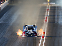 Feb 27, 2016; Chandler, AZ, USA; NHRA funny car driver Tim Wilkerson during qualifying for the Carquest Nationals at Wild Horse Pass Motorsports Park. Mandatory Credit: Mark J. Rebilas-
