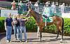 Parting Kiss at Delaware Park racetrack on 6/2/14