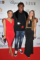 Alex Iwobi and guests at the Lux Afrique gala dinner, Claridge's Hotel, Brook Street, London, England, UK, on Sunday 01 October 2017.<br /> CAP/CAN<br /> &copy;CAN/Capital Pictures