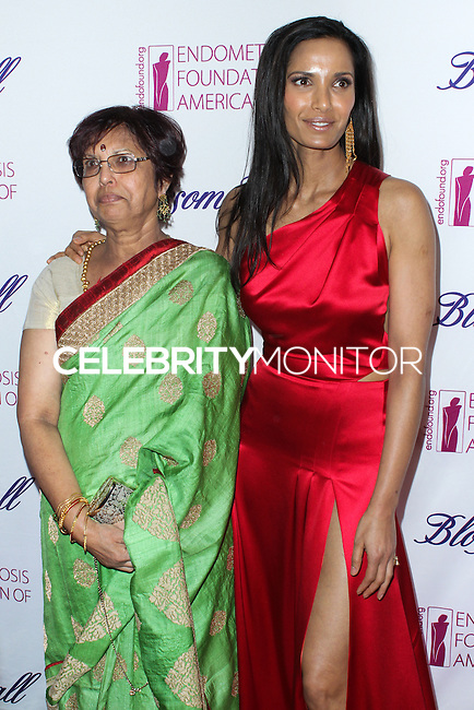 NEW YORK CITY, NY, USA - MARCH 07: Vijaya Lakshmi, Padma Lakshmi at the 6th Annual Blossom Ball Benefiting Endometriosis Foundation Of America held at 583 Park Avenue on March 7, 2014 in New York City, New York, United States. (Photo by Jeffery Duran/Celebrity Monitor)