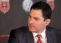 WASHINGTON, DC-JULY 10,2012:  Jason Levien during a D.C. United ownership press conference at the POV Lounge in the W Hotel, Washington, DC.