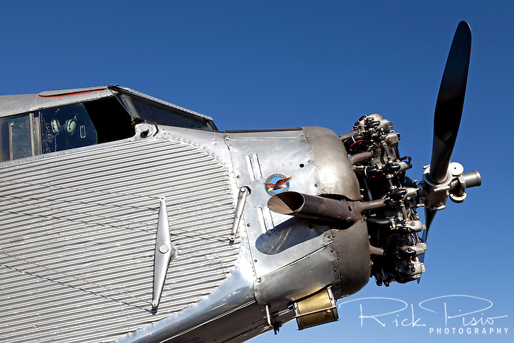 Ford Trimotor N414H. N414H was used for 65 years as a sightseeing aircraft flying over the Grand Canyon.