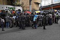 Ca&ntilde;eros marchan exigiendo pensiones tras ocho a&ntilde;os de lucha por 5 mil solicitudes introducidas al Estado dominicano.<br /> Foto: &copy; Edgar Hern&aacute;ndez<br /> Fecha:14/08/2017