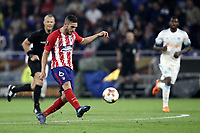 Club Atletico de Madrid's Koke kicks the ball during the UEFA Europa League final football match between Olympique de Marseille and Club Atletico de Madrid at the Groupama Stadium in Decines-Charpieu, near Lyon, France, May 16, 2018.<br /> UPDATE IMAGES PRESS/Isabella Bonotto