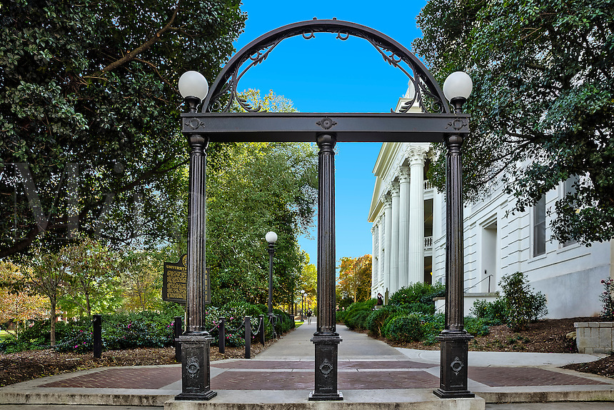 The Georgia Arch, University of Georgia, Athens, Georgia, USA
