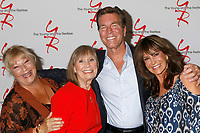 LOS ANGELES - AUG 19:  Beth Maitland, Marla Adams, Peter Bergman, Jess Walton at the Young and Restless Fan Event 2017 at the Marriott Burbank Convention Center on August 19, 2017 in Burbank, CA
