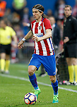 Atletico de Madrid's Filipe Luis during La Liga match. April 4,2017. (ALTERPHOTOS/Acero)