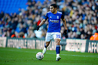 4th January 2020; St Andrews, Birmingham, Midlands, England; English FA Cup Football, Birmingham City versus Blackburn Rovers; Jefferson Montero of Birmingham City on the ball preparing to take on the defender - Strictly Editorial Use Only. No use with unauthorized audio, video, data, fixture lists, club/league logos or 'live' services. Online in-match use limited to 120 images, no video emulation. No use in betting, games or single club/league/player publications
