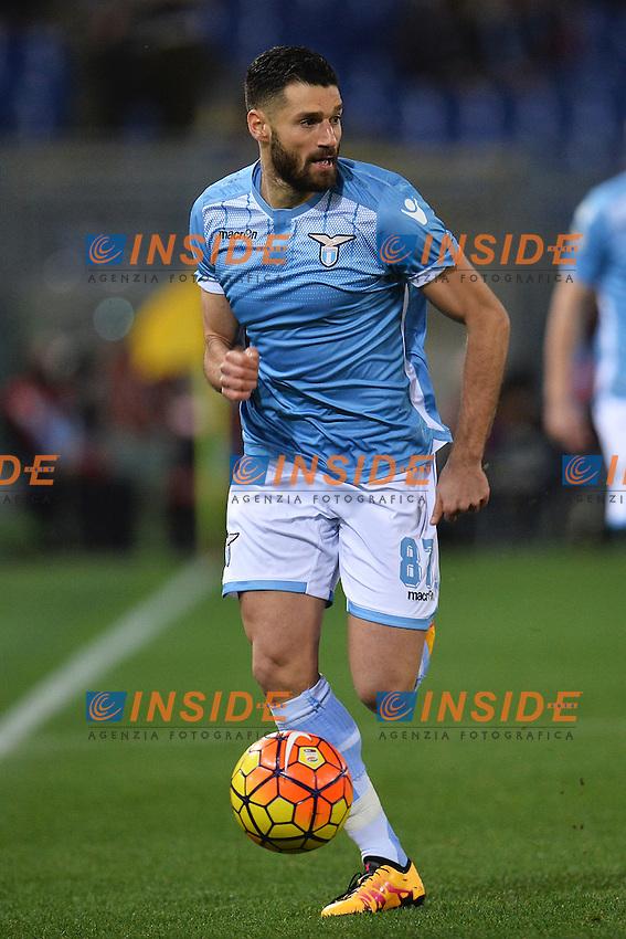 Antonio Candreva Lazio <br /> Roma 03-02-2016 Stadio Olimpico, Football Calcio Serie A 2015/2016 Lazio - Napoli. Foto Andrea Staccioli / Insidefoto