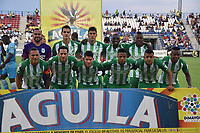 MONTERIA - COLOMBIA, 02-09-2018: Jugadores del Nacional posan para una foto previo al partido entre Jaguares de Córdoba y Atletico Nacional por la fecha 7 de la Liga Águila II 2018 jugado en el estadio Municipal de Montería. / Players of Nacional pose to a photo prior the match between Jaguares of Cordoba and Atletico Nacional for the date 7 of the Liga Aguila II 2018 at the Municipal de Monteria Stadium in Monteria city. Photo: VizzorImage / Andres Felipe Lopez / Cont