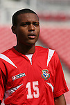 15 March 2008: Rolando Algandona (PAN). The Panama U-23 Men's National Team defeated the Cuba U-23 Men's National Team 4-1 at Raymond James Stadium in Tampa, FL in a Group A game during the 2008 CONCACAF's Men's Olympic Qualifying Tournament.