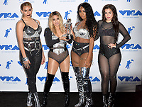 Fifth Harmony in the press room for the 2017 MTV Video Music Awards at The &quot;Fabulous&quot; Forum, Los Angeles, USA 27 Aug. 2017<br /> Picture: Paul Smith/Featureflash/SilverHub 0208 004 5359 sales@silverhubmedia.com