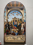 Religious painting, Academy Gallery, Venice, Italy