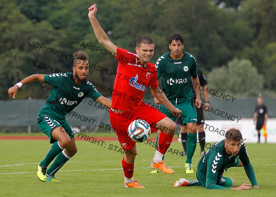 Fudbal season 2013-2014<br /> FK Crvena Zvezda pripreme<br /> Crvena Zvezda v Krka<br /> Marko Petkovic (C)<br /> Novo Mesto, 07.12.2014.<br /> foto: Srdjan Stevanovic/Starsportphoto &copy;