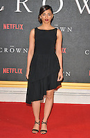 Radhika Apte at the &quot;The Crown&quot; TV premiere, Odeon Leicester Square cinema, Leicester Square, London, England, UK, on Tuesday 01 November 2016. <br /> CAP/CAN<br /> &copy;CAN/Capital Pictures /MediaPunch ***NORTH AND SOUTH AMERICAS ONLY***
