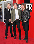 Taylor Hanson; Isaac Hanson; Zac Hanson of HANSON at The Warner Bros. Pictures' L.A Premiere of  THE HANGOVER: PART III held at The Westwood Village Theater  in Westwood, California on May 20,2013                                                                   Copyright 2013 © Hollywood Press Agency