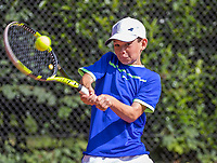 Hilversum, Netherlands, August 7, 2017, National Junior Championships, NJK, Yanik Maarsen - Jasper de Bruin<br /> Photo: Tennisimages/Henk Koster