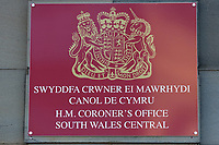 "Pictured: The Coroner's Court in Pontypridd, south Wales, UK. Thursday 25 October 2018 Re: The inquest into the death of a toddler who died after a parked Range Rover's brakes failed and it hit a garden wall which fell on top of her will be held at Pontypridd Coroner's Court, Wales, UK today (Thu 25 Oct 2018).<br /> One year old Pearl Melody Black and her eight-month-old brother were taken to hospital after the incident in Merthyr Tydfil, in August 2017.<br /> Pearl's family, father Paul who is The Voice contestant and mum Gemma have said she was ""as bright as the stars""."