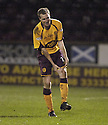 20/02/2008    Copyright Pic: James Stewart.File Name : sct_jspa04_motherwell_v_ICT.DAVID CLARKSON CELEBRATES AFTER HE SCORES MOTHERWELL'S THIRD.James Stewart Photo Agency 19 Carronlea Drive, Falkirk. FK2 8DN      Vat Reg No. 607 6932 25.Studio      : +44 (0)1324 611191 .Mobile      : +44 (0)7721 416997.E-mail  :  jim@jspa.co.uk.If you require further information then contact Jim Stewart on any of the numbers above........