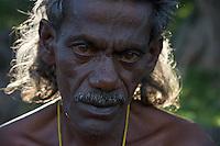 Handicap man atDambulla Cave Temple Sri Lanka dating to the first Century BC.