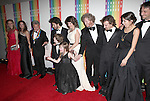 Lisa Gottsegen & Dustin Hoffman with Family attending the 35th Kennedy Center Honors at Kennedy Center in Washington, D.C. on December 2, 2012