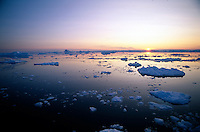Pack ice and iceberg, Antarctic Peninsula, Weddell Sea, Antarctica Polar Region, Antarctica