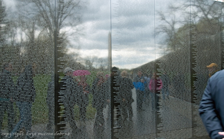 "Washington DC Monuments and Memorials Vietnam Memorial ""The Wall"""