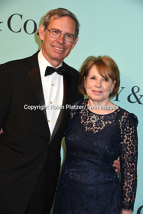 Mike Kowalski and wife attend the Tiffany &amp; Co 2017 Blue Book Collection on April 21, 2017 at St Ann's Warehouse in Brooklyn, New York, USA.<br /> <br /> photo by Robin Platzer/Twin Images<br />  <br /> phone number 212-935-0770