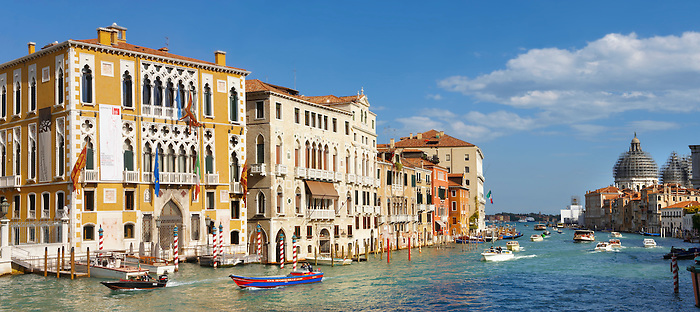 Grand canal at Academia Venice - Italy