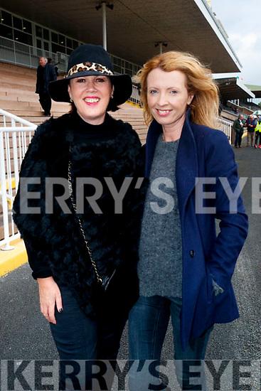 Anne O'Neill, Tralee and Orla Diffily, Ballyfinane enjoying Listowel Races on Sunday last.