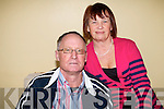Brian and Mary Carmody from Tralee have battled for the past five years to overcome the effects of Brian's stroke and they are on hand to offer support to others who are affected by strokes with the Kerry Stroke Support Group. .