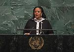 72 General Debate &ndash; 22 September <br /> <br /> <br /> <br /> Kenya MP