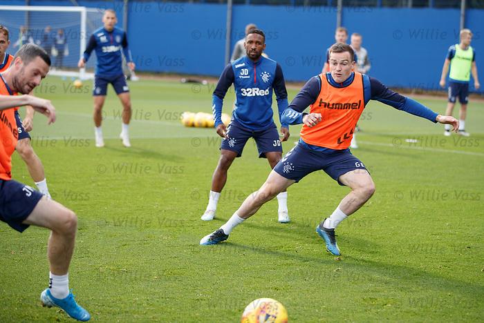 28.08.2019 Rangers training: George Edmundson