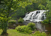 Bond Falls is on the Middle Branch of the Ontonagon River in the western part of Michigan's Upper Peninsula in Ontonagon County.