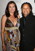 CENTURY CITY, CA, USA - MAY 02: Kim Reese, Cobi Jones at the 21st Annual Race To Erase MS Gala held at the Hyatt Regency Century Plaza on May 2, 2014 in Century City, California, United States. (Photo by Celebrity Monitor)