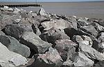 Coastal defences, Felixstowe, Suffolk, England