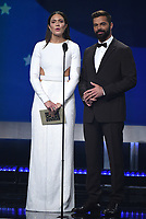 SANTA MONICA - JANUARY 13: Mandy Moore and Ricky Martin appear on the 24th Annual Critics' Choice Awards at the Barker Hangar on January 13, 2019, in Santa Monica, California. (Photo by Frank Micelotta/PictureGroup)