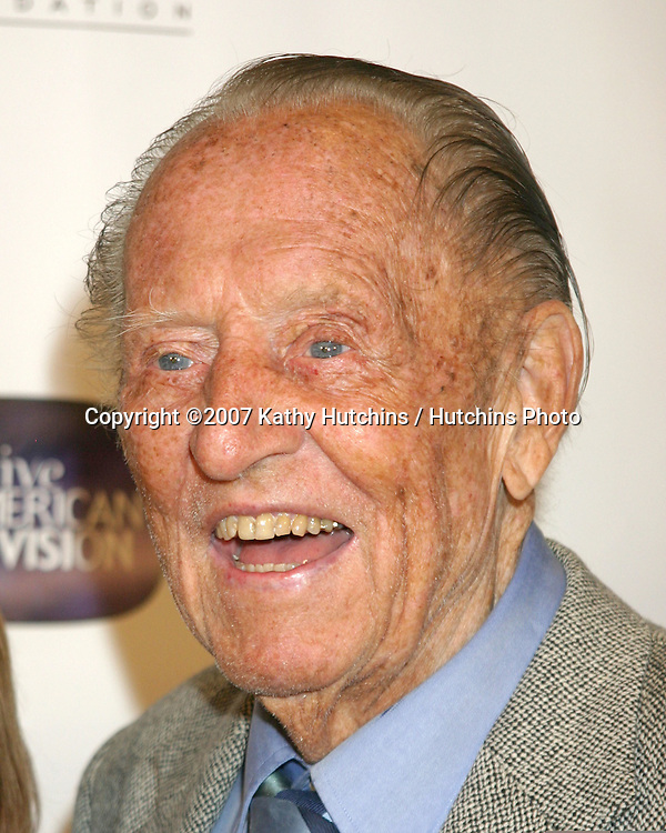 Art Linkletter.10th Anniversary of the Archive of the American TV.Crustacean Resturant.Beverly Hills, CA.June 4, 2007.©2007 Kathy Hutchins / Hutchins Photo....