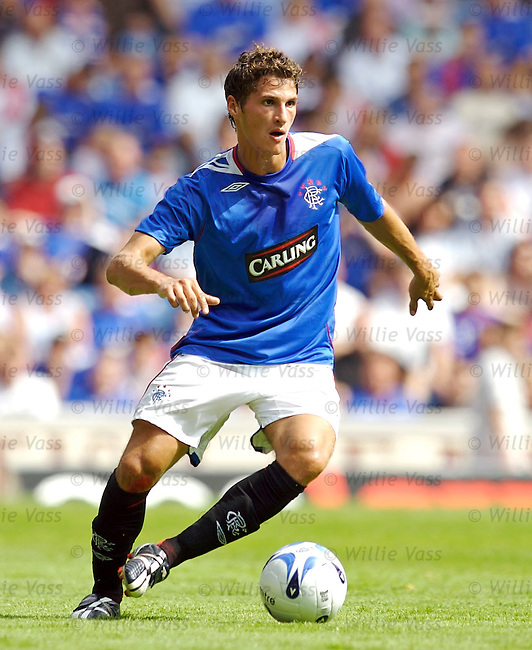 Jeremy Clement, Rangers.stock season 2006-2007.pic willie vass