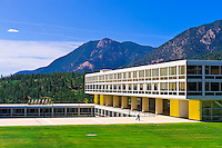 Air Force Academy near Colorado Springs, Colorado USA