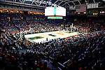 CORAL GABLES, FL - JANUARY 28 General view during an ACC basketball game between the University of Miami Hurricanes and North Carolina Tar Heels on January 28, 2017 at the Watsco Center, Coral Gables, Florida. Miami defeated North Carolina 77-62 ( Photo by Johnny Louis / jlnphotography.com )