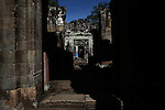 The ruins of Preah Khan at Angkor Thom, Cambodia. June 8, 2013.