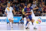 League LNFS 2017/2018 - Game 18.<br /> FC Barcelona Lassa vs Catgas Energia: 2-2.<br /> Ari, Joselito &amp; Javi Rodriguez.