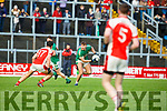 Aidan O'Mahony Rathmore tracks James O'Donoghue Legion during the East Kerry final on Sunday